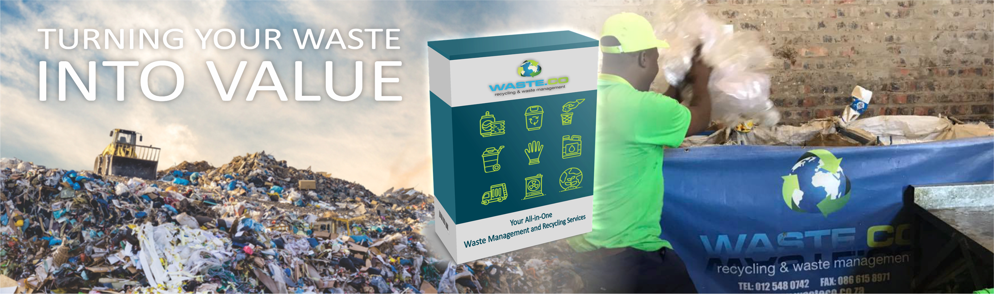 Waste.cO WEBSITE BANNER